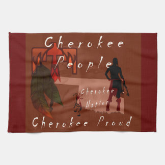 cherokee proud tea towel