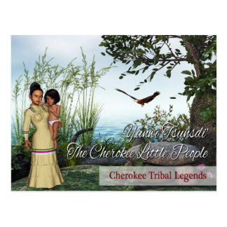 Cherokee Tribal Legends: The Little People Postcard