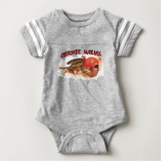 Cherokee Wolves Baby Bodysuit