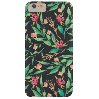 Cherries and Leaves iPhone Case