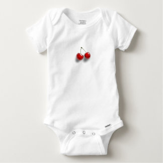 Cherries Baby Onesie