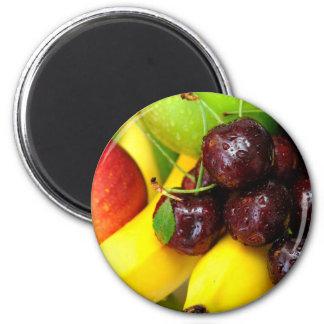 Cherries Bananas And Apples Magnet