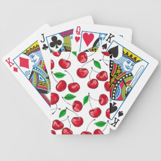 Cherries Bicycle Playing Cards