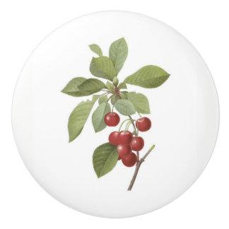 Cherries Ceramic Knob