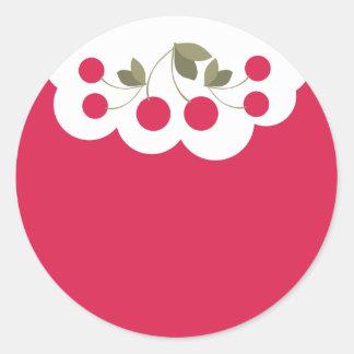 cherries fruit baker baking kitchen stickers