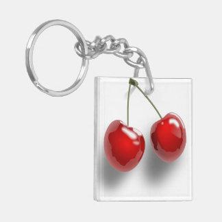 Cherries Key Ring