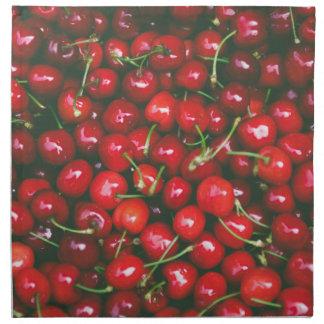 Cherries... Napkin