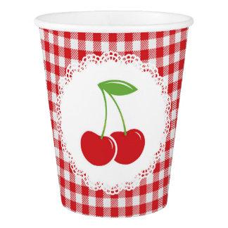 Cherries Paper Cups