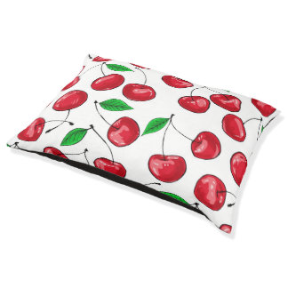 Cherries Pet Bed