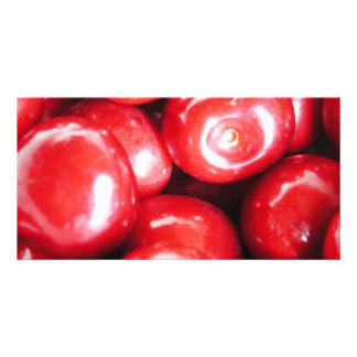 cherries picture card