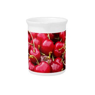 Cherries Pitcher