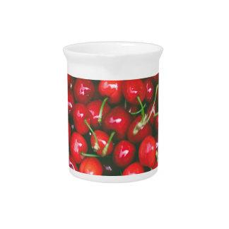 Cherries... Pitcher