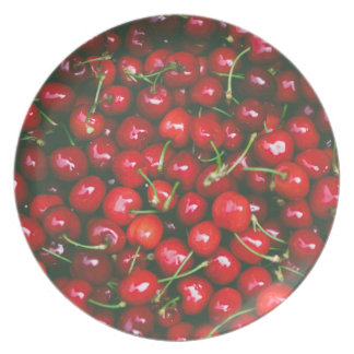Cherries... Plate