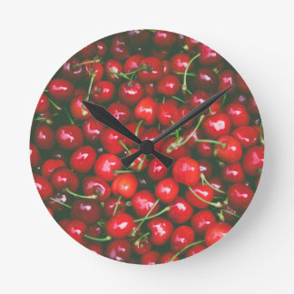 Cherries... Round Clock
