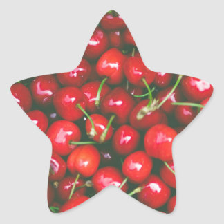 Cherries... Star Sticker