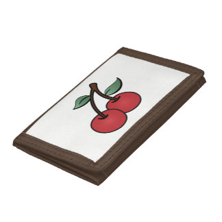Cherries Trifold Wallet