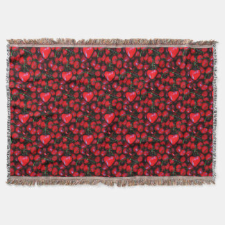 cherries with heart love