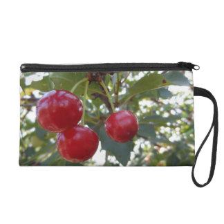 Cherries Wristlet Purse