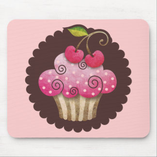 Cherry Berry Cupcake Mousepad TBA