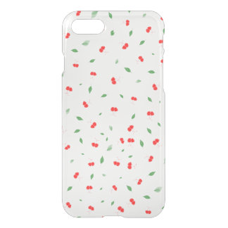 Cherry Berry Fruit Pattern iPhone 8/7 Case