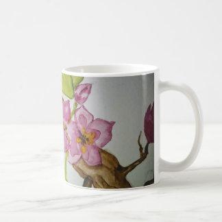 cherry blooms mug