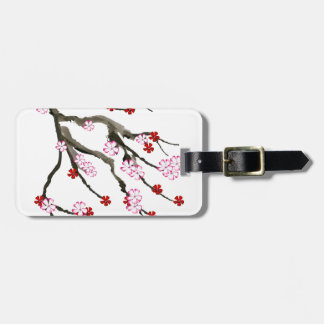 cherry blossom 10 Tony Fernandes Luggage Tag
