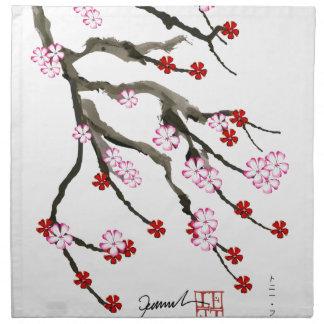 cherry blossom 10 Tony Fernandes Napkin