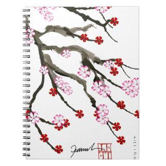 cherry blossom 10 Tony Fernandes Notebook