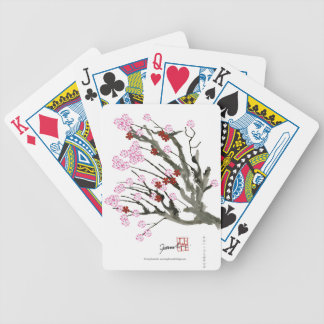 cherry blossom 11 Tony Fernandes Bicycle Playing Cards