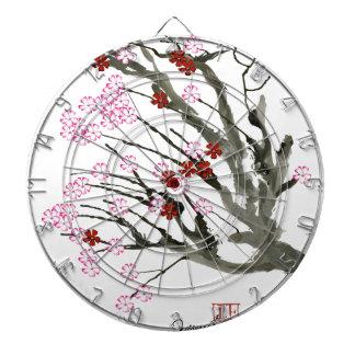 cherry blossom 11 Tony Fernandes Dartboard