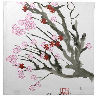 cherry blossom 11 Tony Fernandes Napkin