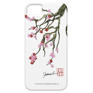 cherry blossom 12 Tony Fernandes Barely There iPhone 5 Case