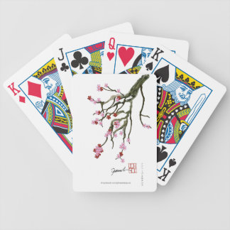 cherry blossom 12 Tony Fernandes Bicycle Playing Cards