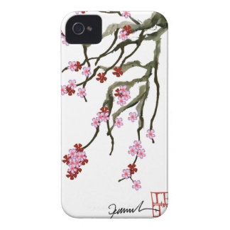 cherry blossom 12 Tony Fernandes iPhone 4 Case