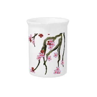 cherry blossom 12 Tony Fernandes Pitcher