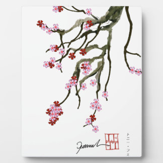 cherry blossom 12 Tony Fernandes Plaque