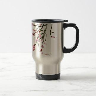 cherry blossom 12 Tony Fernandes Travel Mug