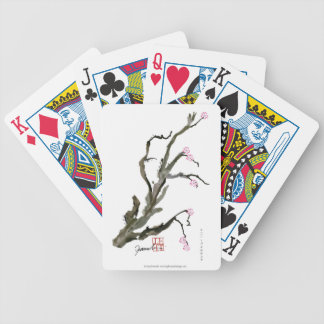 Cherry Blossom 15 Tony Fernandes Bicycle Playing Cards