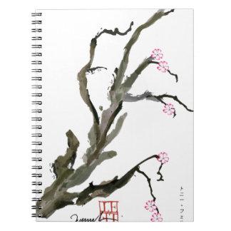 Cherry Blossom 15 Tony Fernandes Notebook