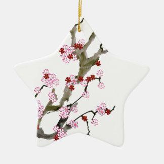 Cherry Blossom 16 Tony Fernandes Ceramic Ornament