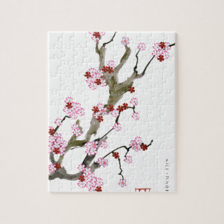 Cherry Blossom 16 Tony Fernandes Jigsaw Puzzle