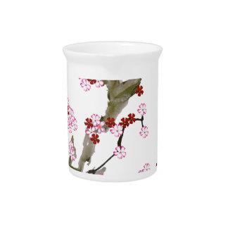 Cherry Blossom 16 Tony Fernandes Pitcher