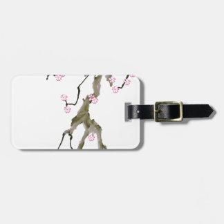 Cherry Blossom 17 Tony Fernandes Luggage Tag