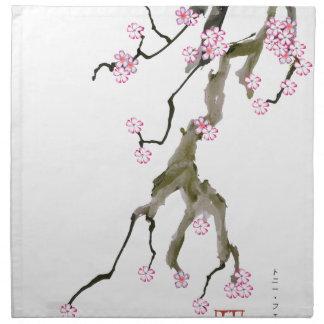 Cherry Blossom 17 Tony Fernandes Napkin