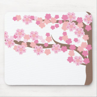 cherry blossom 2 mouse pad