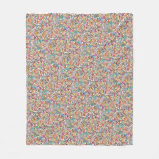 Cherry Blossom Abstract Art Sakura Fleece Blanket