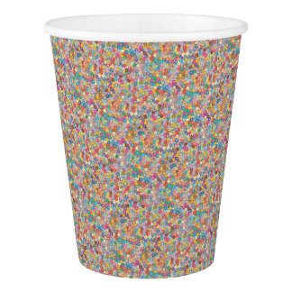 Cherry Blossom Abstract Art Sakura Party Supplies Paper Cup