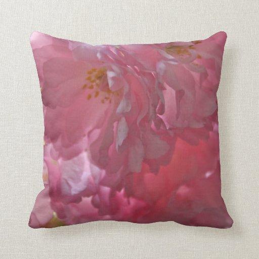 Cherry Blossom American Mojo Pillow/Cushion