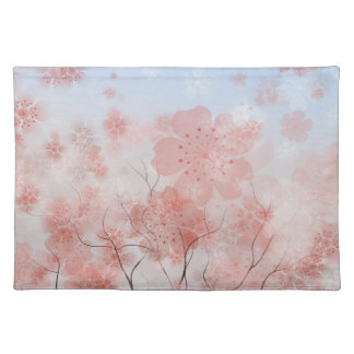 Cherry Blossom American MoJo Placemat