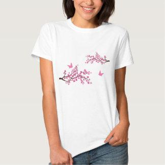 Cherry Blossom and Birds t-shirt